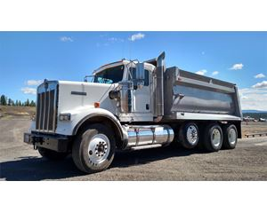 Kenworth W900S Heavy Duty Dump Truck