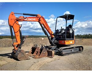 Hitachi ZX35U-3 Mini Excavator