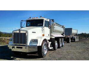 Kenworth T800 Transfer Dump Truck