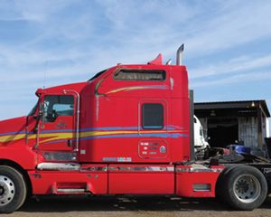 Kenworth T600 Conventional Sleeper
