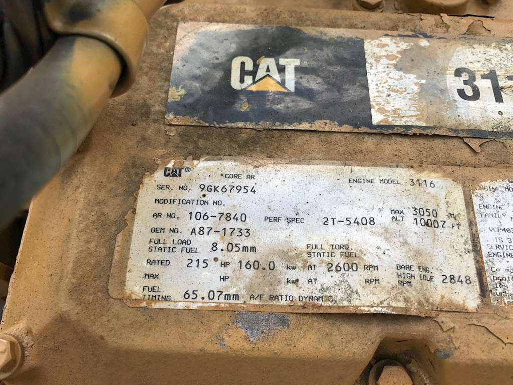 3116 Cat Engine Specs – Wonderful Image Gallery