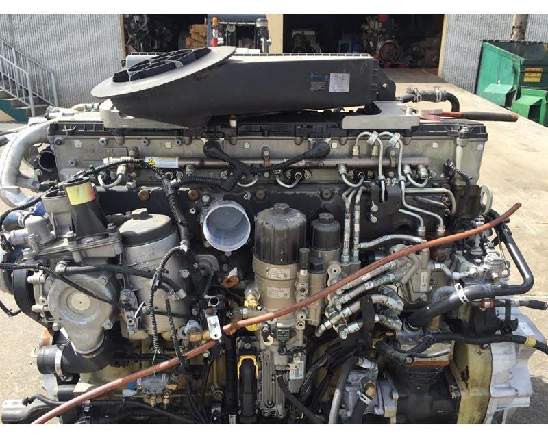 engine sensor locations on a detroit dd13 cummins isl