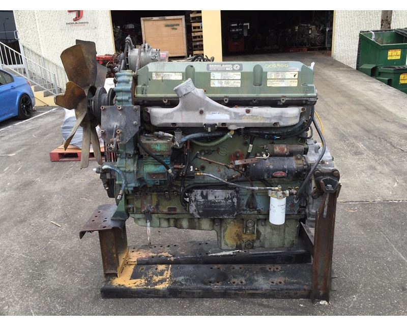 Detroit Diesel Series 60 >> 1999 Detroit Series 60 12 7 Engine For Sale Hialeah Fl 002900 Mylittlesalesman Com