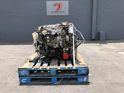 2003 Isuzu 4HE1XS Engine