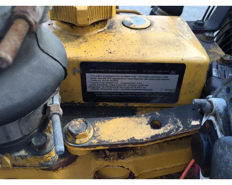John Deere 6068DF150 Diesel Power Unit