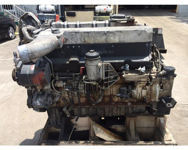 2004 mercedes benz om460 engine for sale medley fl for Mercedes benz rebuilt engines