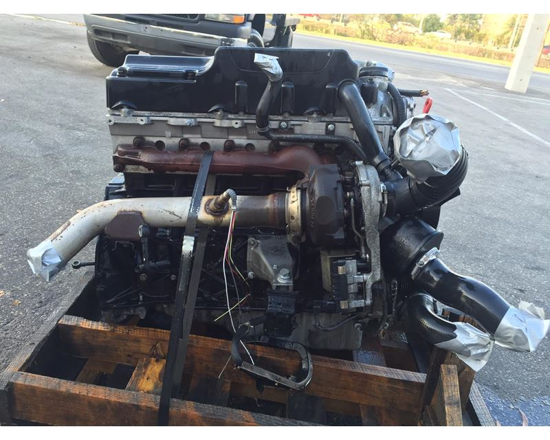 2004 Mercedes-Benz OM647 Engine