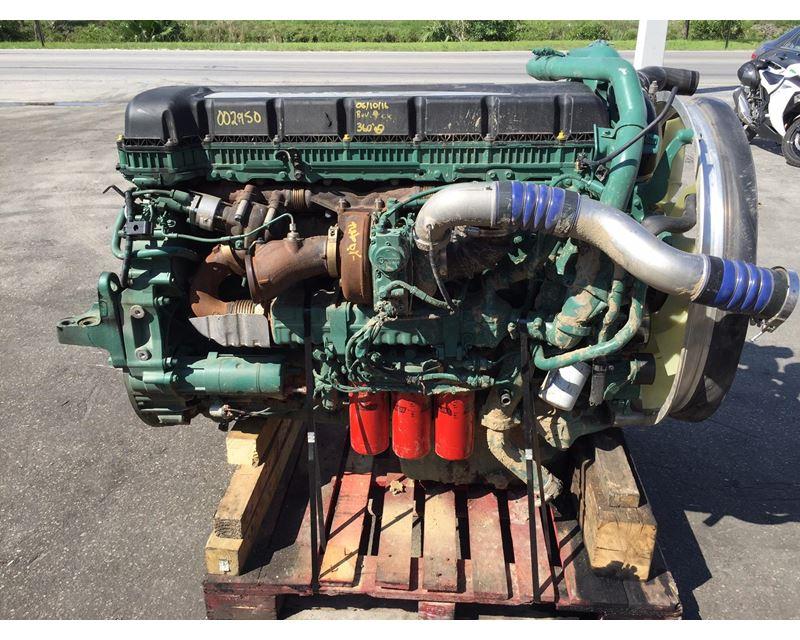 2015 Volvo D13 Engine For Sale, 82,114 Miles | Hialeah, FL | 002950