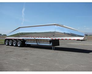 "SHIR AUL LLC ""BULLET"" Aluminum Bottom Dump Semi-Bottom Dump Trailer"