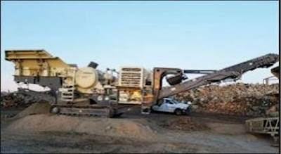 2005 Metso LT105 Mobile Jaw Crusher For Sale, 11,297 Hours
