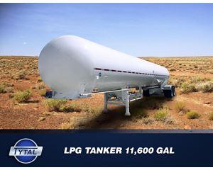 TYTAL 11600 250 PSI-----NEW CUSTOM BUILDS---- Industrial Gas Tank Trailer
