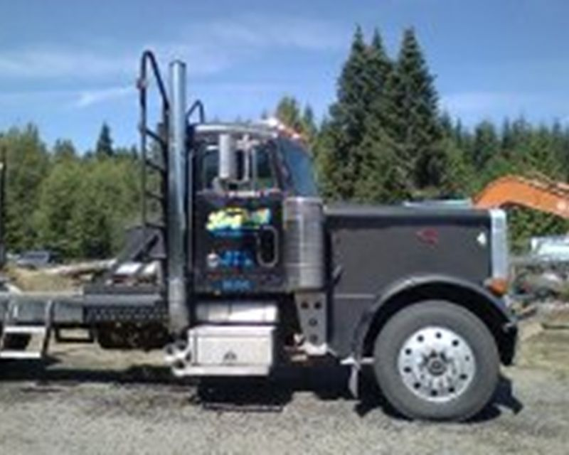 1989 Peterbilt Longlogger Logging Trucks