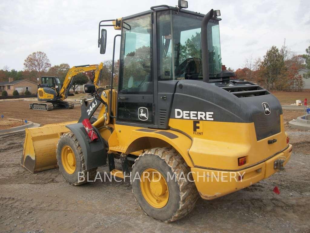 John Deere 244j Attachments : John deere j wheel loader for sale hours