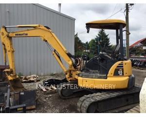 Komatsu PC55 Crawler Excavator