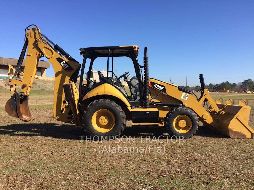 Tractor Loader Backhoe : Caterpillar f backhoe loader for sale hours