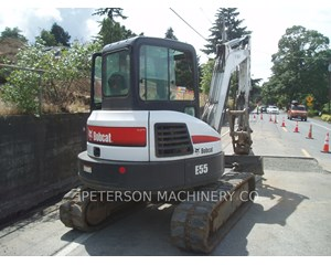 Bobcat E55 Crawler Excavator