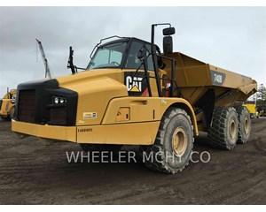 Caterpillar 740B TG Articulated Truck