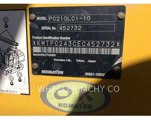 Komatsu PC210LCI-10 Crawler Excavator