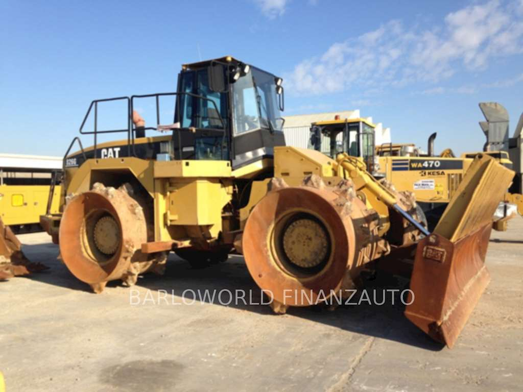 Cat 826g Compactor : Caterpillar g compactor for sale hours