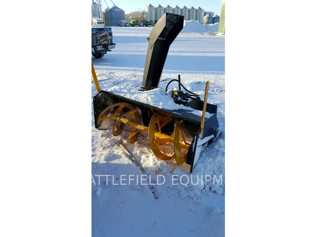 Blower Snow Removal Equipment : Inland steel sa h snow blower removal equipment for