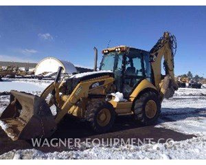 Caterpillar 450E 4WDE Backhoe