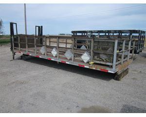 Custom Built 23 FT Flatbed Truck Body
