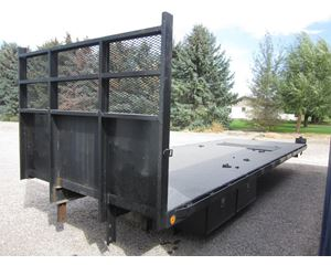 Custom Built 23 FT Flatbed Truck Body