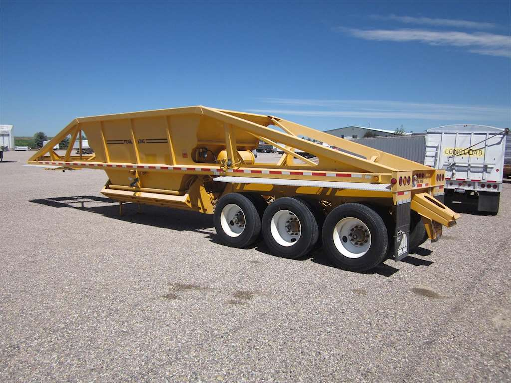 2003 Trail King  bd22 433 Semi Bottom Dump Trailer 8538893 on belly dump semi trailers