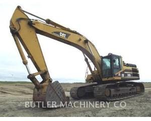 Caterpillar 345B Excavator