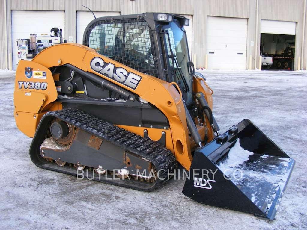 Steer Case Skid : Case tv skid steer loader for sale hours