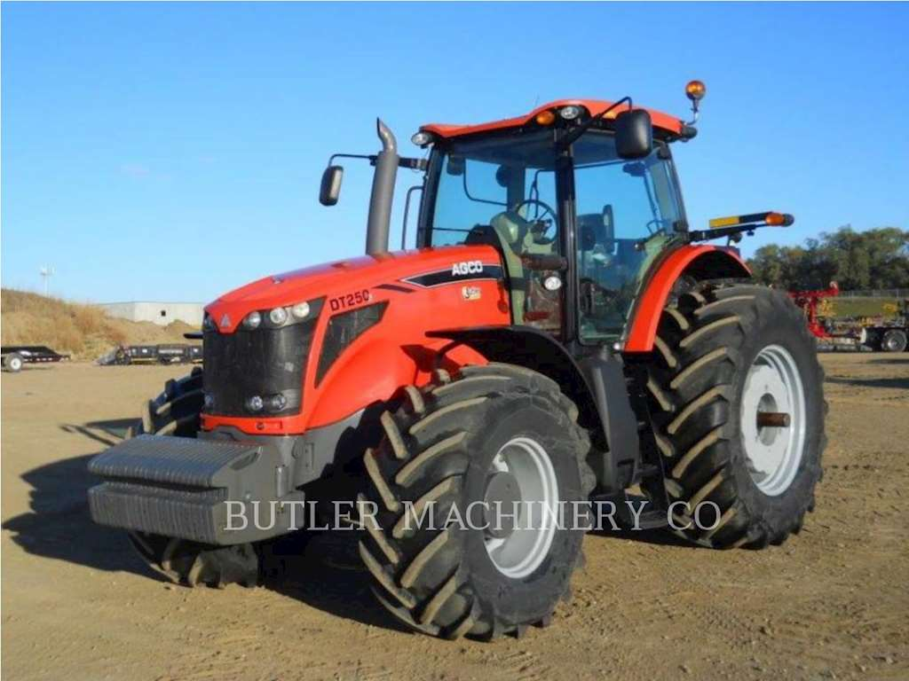 Agco Tractor Front Fenders : Agco dt b tractor for sale hours sioux