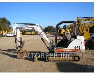 Bobcat 334 Crawler Excavator