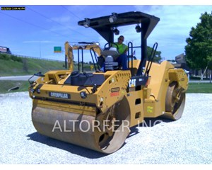 Caterpillar CB54XW Smooth Drum Compactor