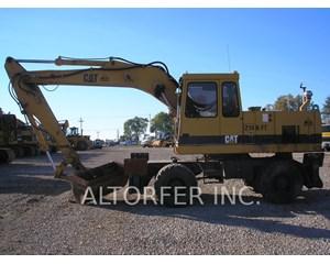 Caterpillar 214B FT Wheeled Excavator