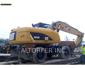 Caterpillar M318D Wheeled Excavator