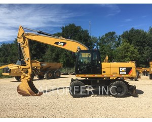 Caterpillar M322D Wheeled Excavator