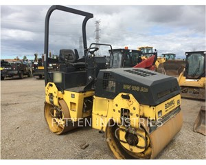 BOMAG BW 138 AD Smooth Drum Compactor