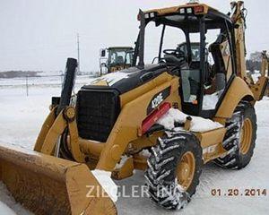 Caterpillar 420E Backhoe
