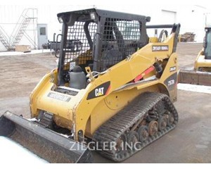 Caterpillar 257B3 Crawler Dozer