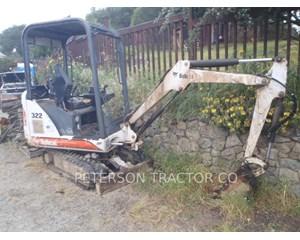 Bobcat 322D Crawler Excavator