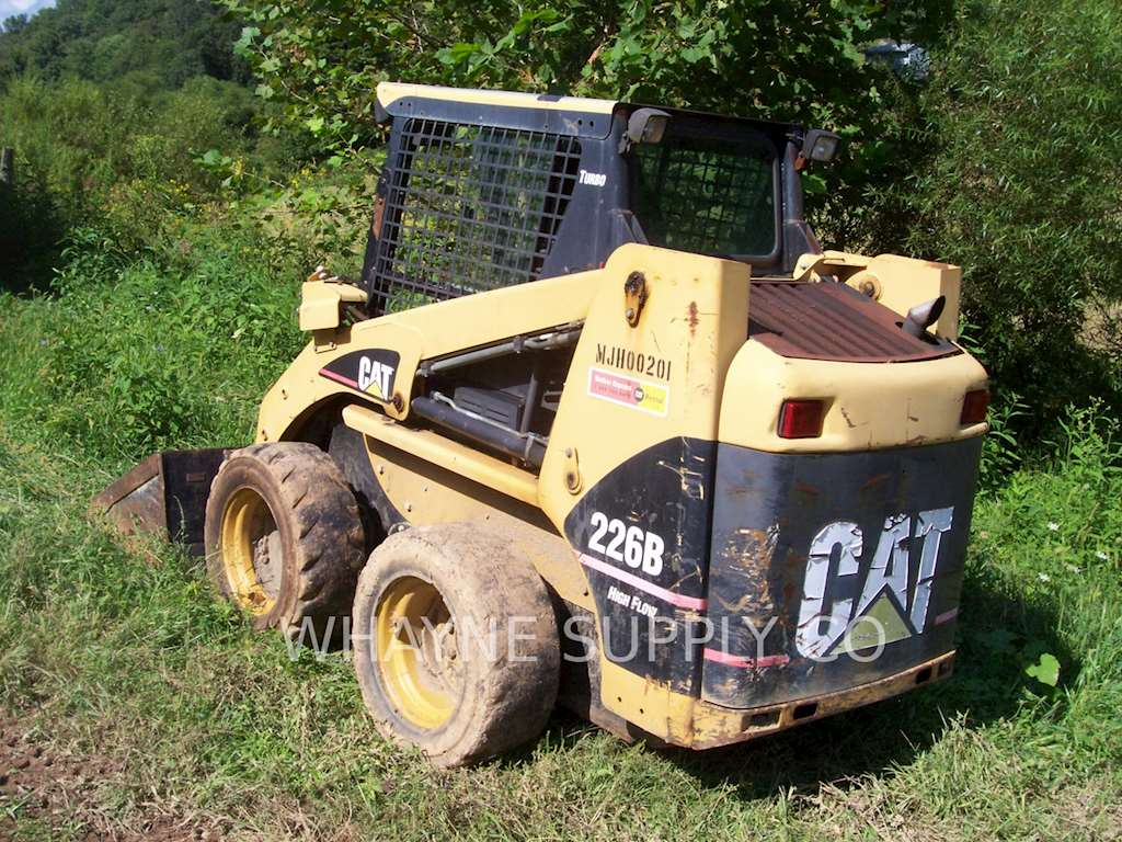 2004 Caterpillar 226b Skid Steer Loader For Sale  2 411