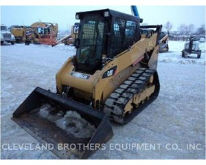 Caterpillar 259B Crawler Dozer