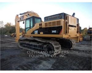 Caterpillar 345C Crawler Excavator