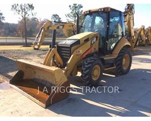 Caterpillar 416F 4A Backhoe