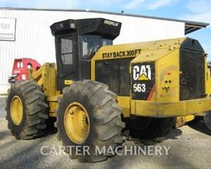 Caterpillar 563 Feller Buncher