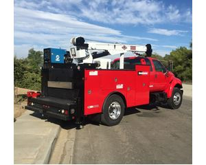 Ford F-650 EXTRA CAB EXTRA CAB WORK READY