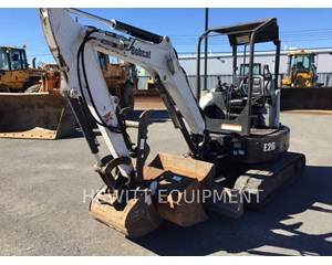 Bobcat E26 Crawler Excavator