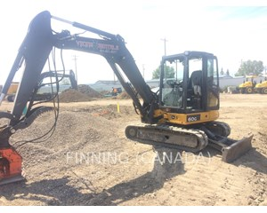 John Deere 60G Crawler Excavator
