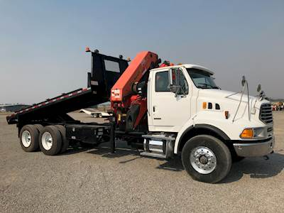 Crane Truck For Sale >> 2006 Sterling Lt9500 Crane Truck With Palfinger Pk36002 Crane For