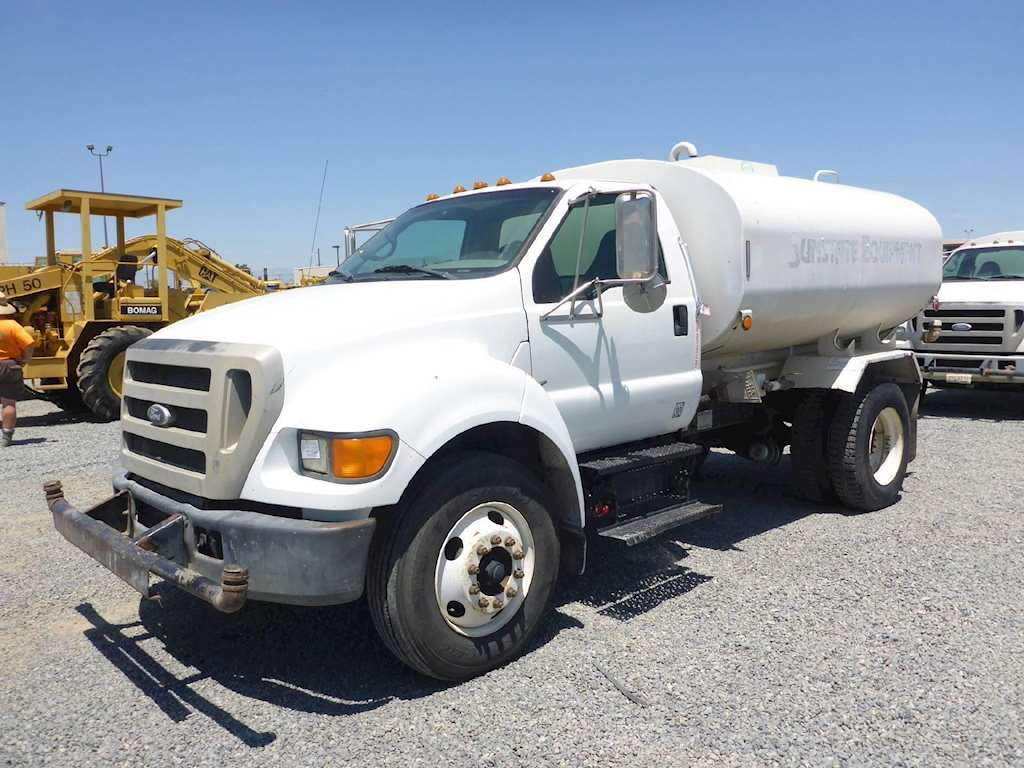 Ford F 750 >> 2004 Ford F-750 Water Tank Truck For Sale, 12,400 Miles | Redding, CA | 12116-02 ...
